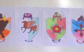 Рисунок карандашом чтоб папа был рад. Пошаговая инструкция, как нарисовать герб семьи карандашом в школу