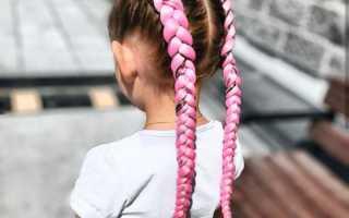 Видео как вплетать цветные косы. Одна из самых модных укладок лета: боксерские косы с канекалоном