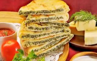 Настоящий рецепт осетинских пирогов. Классический рецепт приготовления осетинского пирога (тесто)