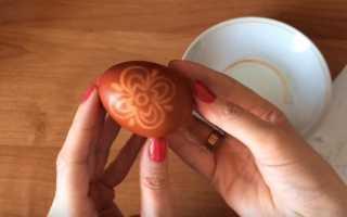 Длинный рисунок на яйцо пасхальное. Узоры на пасхальных яйцах: какие бывают и как сделать