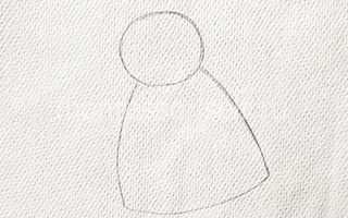 Как нарисовать ангела поэтапно карандашом. Мастер-класс с использованием нетрадиционных техник рисования «Рождественский ангелочек Рисунок ангела с крыльями карандашом легкие поэтапно