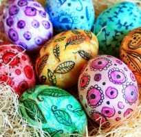 Как сделать рисунок на пасхальных яйцах. Роспись пасхальных яиц акварелью, гуашью и маркером