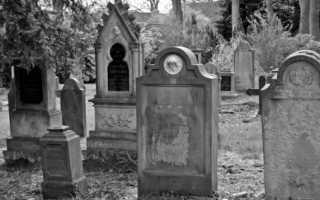 Где узнать место захоронения человека на кладбище. Гипотеза о том, когда попали в могилу посторонние черепа
