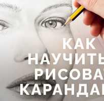Научиться рисовать карандашом поэтапно для начинающих. Советы как научиться рисовать карандашом
