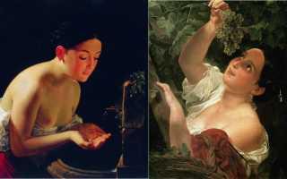 Вирсавия картина брюллова описание. Самые известные полотна Брюллова, за которые его прозвали «Карлом Великим Брюллов вирсавия