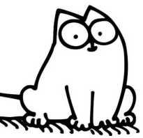 Как нарисовать кота саймона в разных позах. Как нарисовать кота Саймона простым карандашом поэтапно