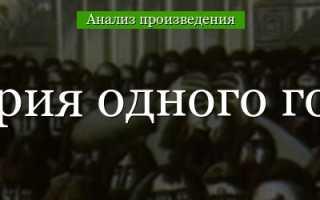 Содержание рассказа история одного города. Анализ «истории одного города» салтыкова-щедрина, основная идея и тема произведения