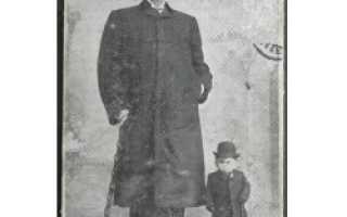 Человек, который в течение жизни был и карликом, и гигантом. История везучего карлика ричарда гибсона