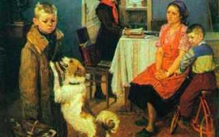 Описание картины «Опять двойка» Ф.Решетникова. Сочинение по картине Ф.Решетникова Опять двойка