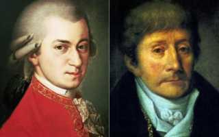 Моцарт vs Сальери: кто кому завидовал на самом деле, и что стало причиной смерти Моцарта. История сальери и моцарта — тайна смерти