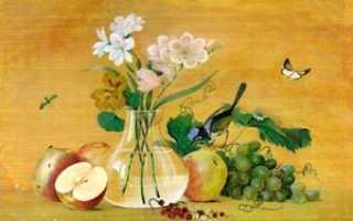 Где находится картина цветы фрукты птица. Сочинение по картине Толстова Федора «Цветы, фрукты, птица