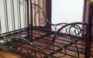 Диван кровать из профильной трубы своими руками. Железная кровать — делаем своими руками