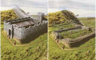 Сотни веков за несколько секунд: как выглядит восстановление древних руин в гифках. Древние кельты