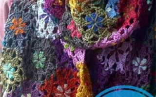 Шарфик для молодой девушки связать крючком. Чудесные шарфы связанные крючком. Подборка