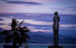 Городе батуми фигура женщины и мужчины. Скульптура «Али и Нино»: воодушевляющая и трагическая история любви