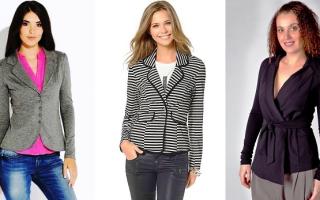 Серый женский трикотажный пиджак с чем носить. Шикарный белый женский пиджак (50 фото) — С чем носить
