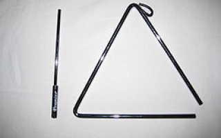 Сообщение о треугольнике музыкальном инструменте кратко. Музыкальный инструмент треугольник