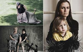 Обратная сторона материнства: Скандальный фотопроект Анны Радченко. Обратная сторона материнской любви