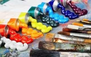 Как пользоваться масляными художественными красками. Основы рисования масляными красками