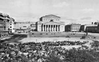 Большой оперный театр. История здания государственного академического большого театра (габт)