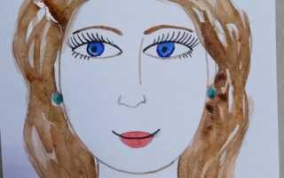 Рисунок на тему мама глазами ребенка. Как правильно нарисовать портрет человека, девушки карандашом поэтапно для детей и начинающих? Как красиво нарисовать портрет мамы карандашом и красками поэтапно