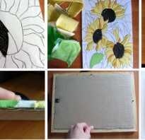 Объемные картины для интерьера своими руками. Картины из ткани и бумаги, мастер класс