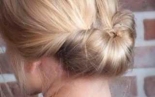 Быстрая прическа на волосы средней длины. Быстрые вечерние и повседневные прически на средние волосы.