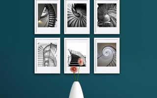 Оформление стены картинами правильное размещение. Как правильно повесить картину или фото на стену — правила, советы и идеи