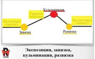 Вступление завязка развитие действия кульминация развязка. Композиционное решение спектакля