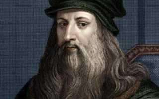 Леонардо да Винчи: где родился, чем прославился, интересные факты. Биография леонардо да винчи