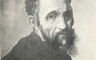Микеланджело краткое содержание его биографии самое главное. Интересные факты о микеланджело буонарроти