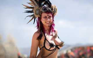 Фестиваль в калифорнии пустыне горящий человек. Идеальное место для самовыражения творческих людей