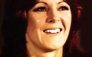 Анни-Фрид Лингстад: жизнь и фотографии темноволосой солистки группы ABBA. Как солистка легендарной «ABBA» стала «подарком Гитлеру