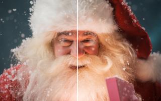 Как сделать эффект нарисованной фотографии. Магия Photoshop: четыре способа превращения фотографии в картину