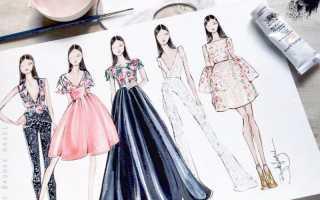 Как научиться красиво рисовать начинающему дизайнеру интерьера. Как рисовать модные эскизы