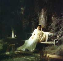 Картина крамского лунная ночь описание. История одного шедевры: Иван Крамской «Лунная ночь»