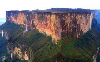 Где расположен Анхель — самый высокий водопад на планете? Самый высокий водопад в мире.