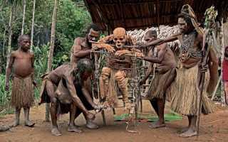 Страны в которых по сей день живут людоеды. Племена каннибалов, которые до сих пор едят людей