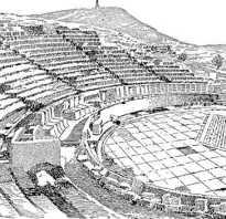 Рассказ о театре в афинах. Театр Диониса в Афинах: история, описание и интересные факты