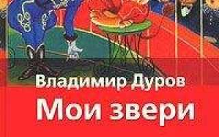 Читать книгу «Мои звери» онлайн полностью — Владимир Дуров — MyBook. Мои звери (сборник)